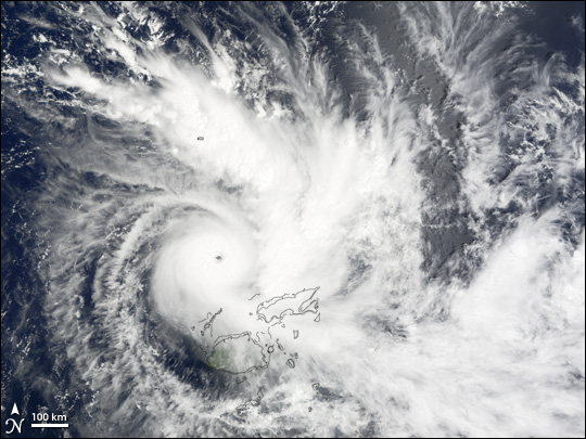 Tropical Cyclone Daman