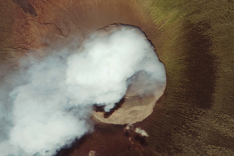 Summit Close Ups of Two African Volcanoes - related image preview