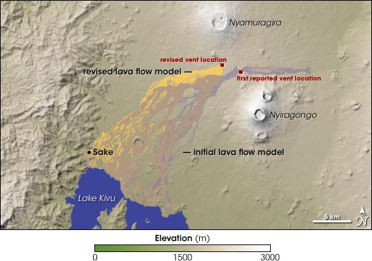 Nyamuragira Lava Flows
