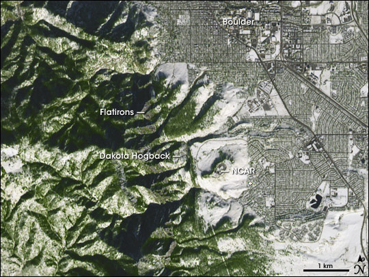Geology of Boulder, Colorado