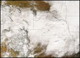 Mid-December Snowstorm in United States