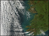 Complex Clouds off Ireland