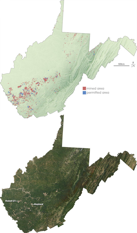 Mining Permits across West Virginia