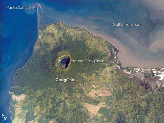 Cosiguina Volcano, Nicaragua
