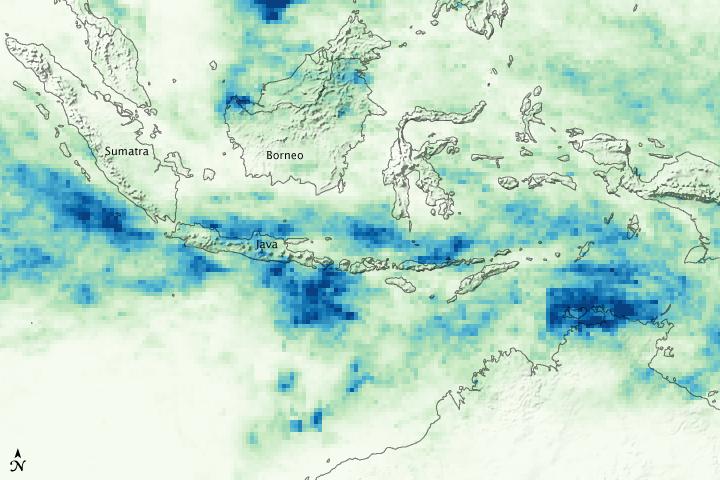 Heavy Rainfall Floods Indonesia