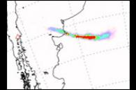 Sulfur Dioxide Plume from Llaima Volcano