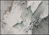 Cloud Streets Across Caspian Sea