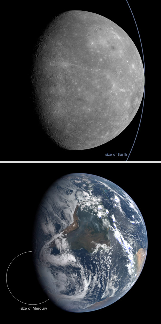 MESSENGER Views Mercury, Sends Earth a Postcard