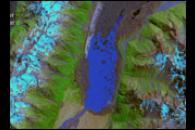 Retreat of the Tasman Glacier