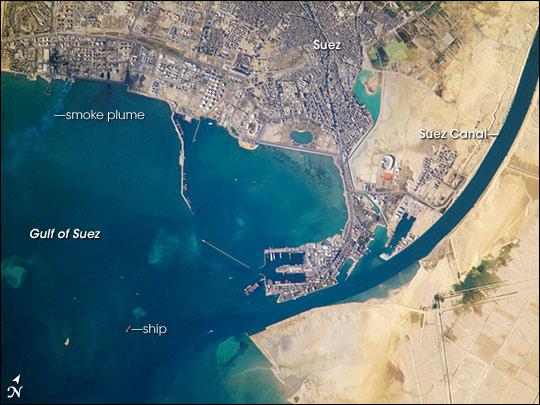 Port of Suez, Egypt