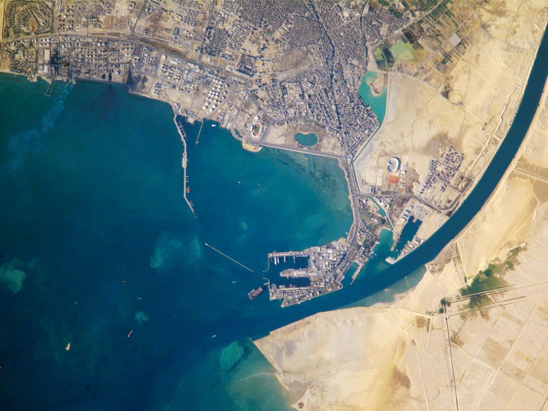 Suez Egypt  city photos gallery : Port of Suez, Egypt : Image of the Day