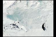 Signs of Summer Thaw on the Antarctic Peninsula
