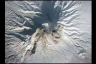 Column of Ash Rises Over Shiveluch Volcano