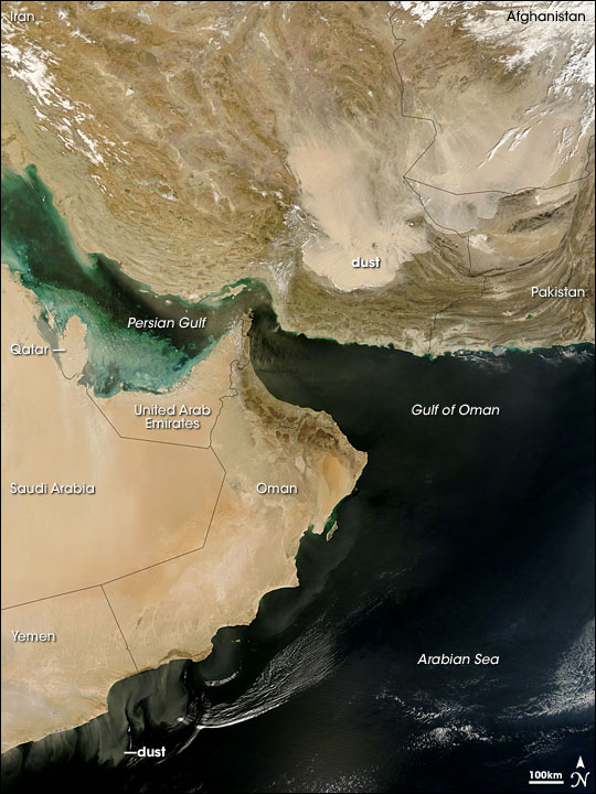 Dust Storms over the Middle East