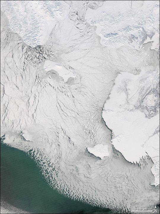 Sea Ice in the Bering Strait