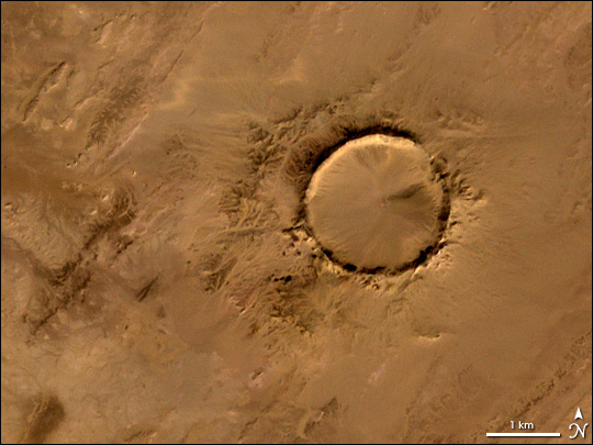 Tenoumer Crater, Mauritania - related image preview