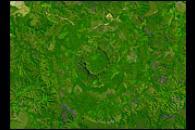 Serra da Cangalha Crater, Brazil