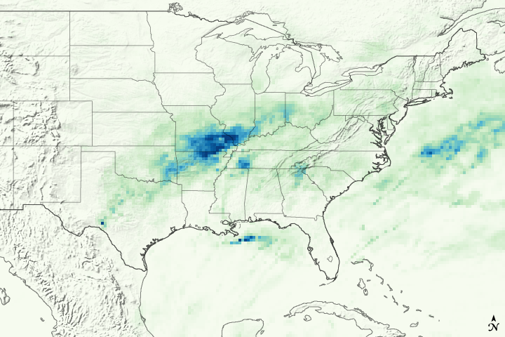 Deadly Rains in the U.S. Midwest
