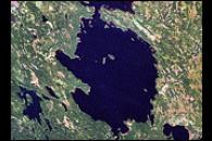 Lake Janisjarvi Impact Crater