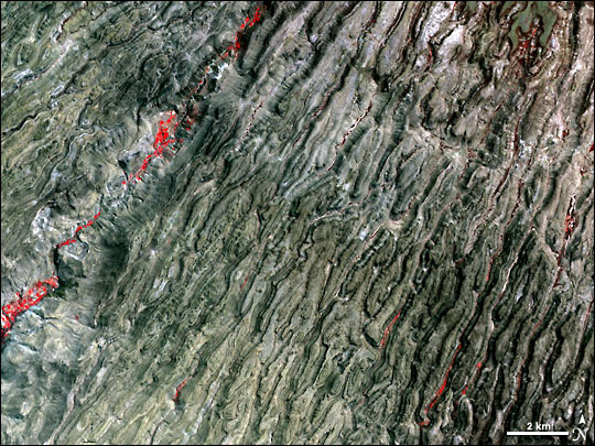 Canyons of the Andes Mountains, Southern Peru