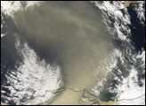 Dust Plume over the Eastern Mediterranean