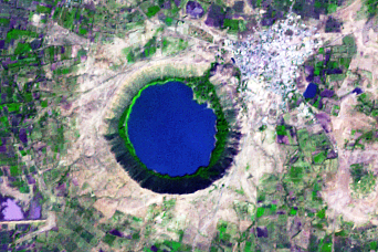 Lonar Crater, India - related image preview