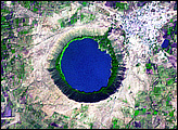 Lonar Crater, India - selected image