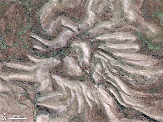 Spider Crater Close-up