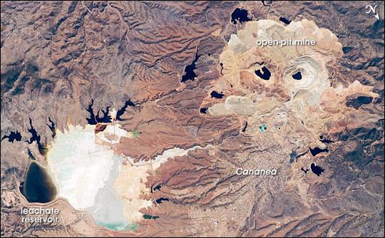 Cananea Copper Mine, Sonora, Mexico