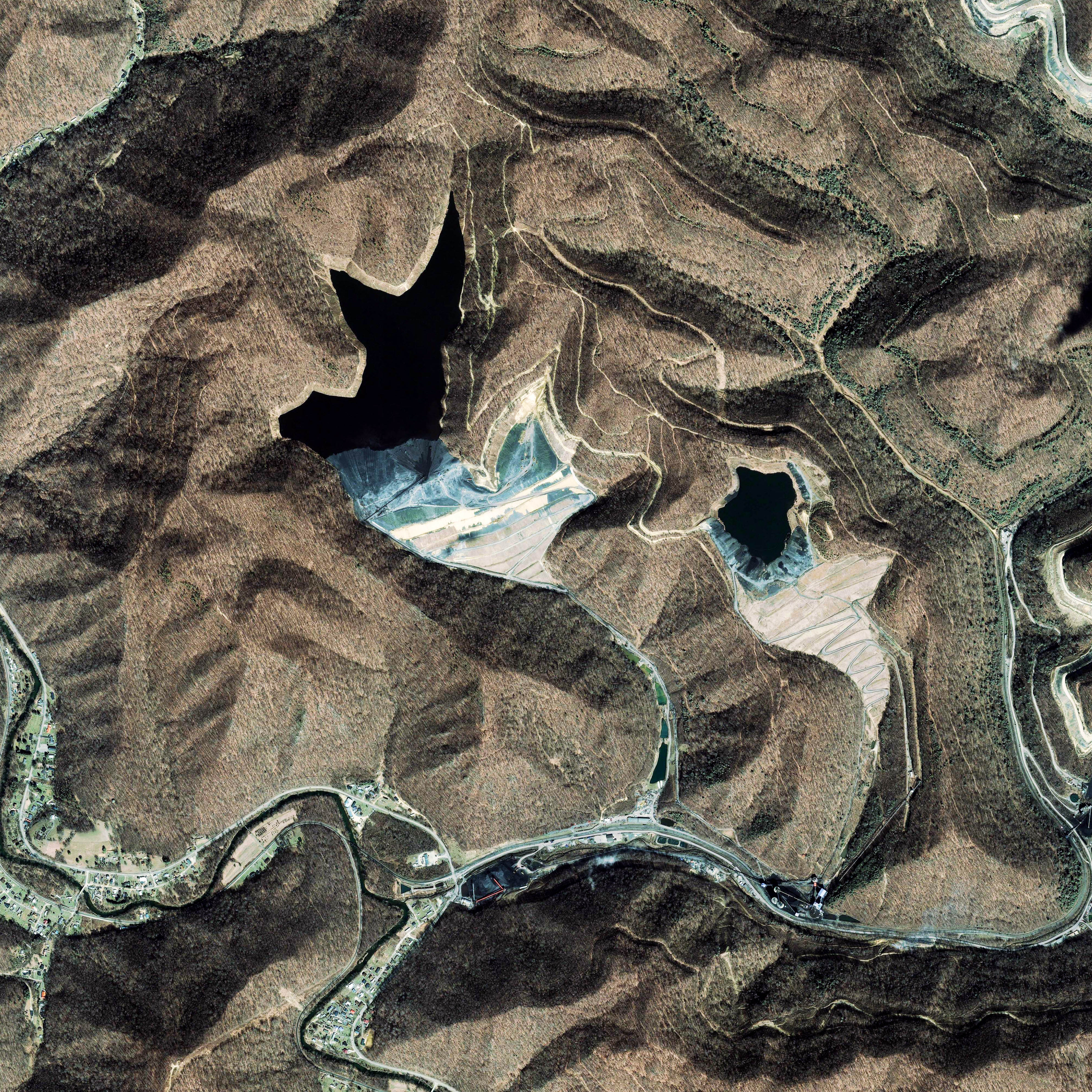 Coal Sludge Impoundments, West Virginia - related image preview