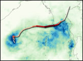 Heavy Rain from Cyclone Nargis