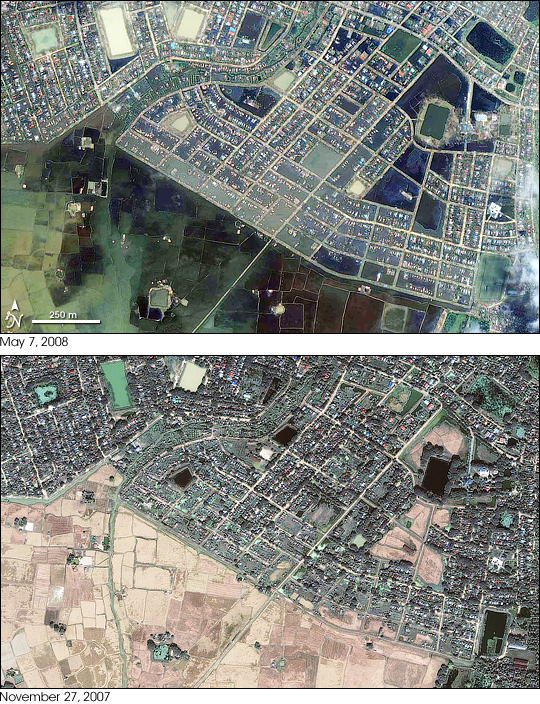 Flooding in Yangon, Burma (Myanmar) - related image preview