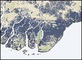 Floodwaters in Burma