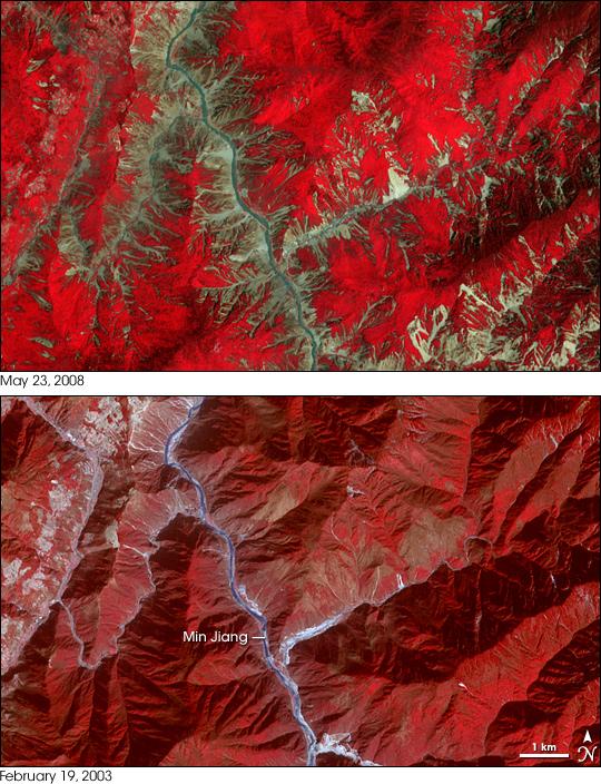 Sichuan Landslides