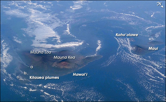 Volcanic Plumes and Vog,  Hawaii