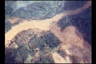 Dam Breach Swells Jianjiang River