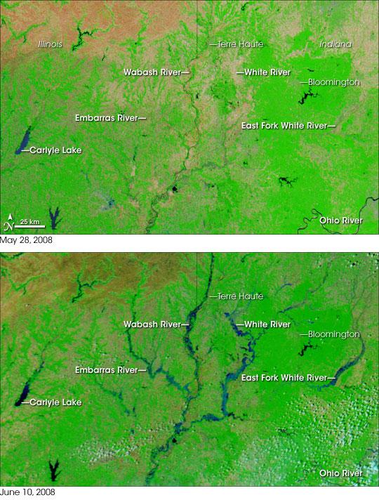 Floods in Indiana, Illinois