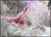 Phosphate Mines in Jordan