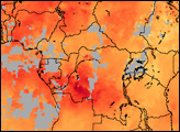 Carbon Monoxide from Central African Fires