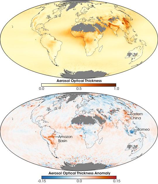 Global Aerosol System 2000-2007