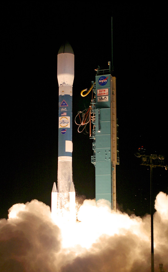 Launch of the Ocean Surface Topography Mission