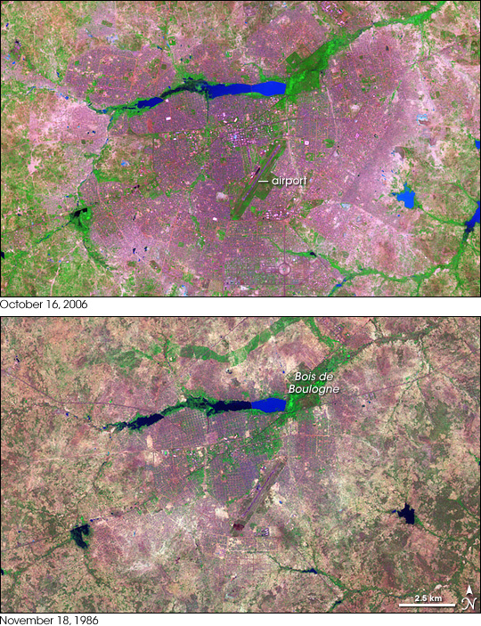 Urbanization of Ouagadougou, Burkina Faso