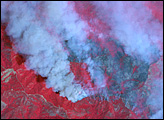 Basin Complex Fire Near Big Sur, California