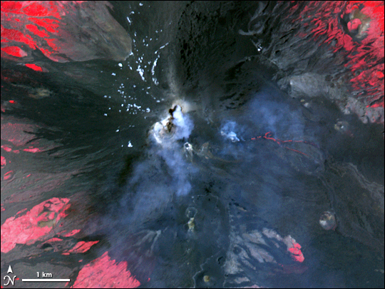 Activity on Mount Etna