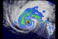 Formation and Decay of Hurricane Bertha