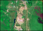 Catoca Diamond Mine, Angola