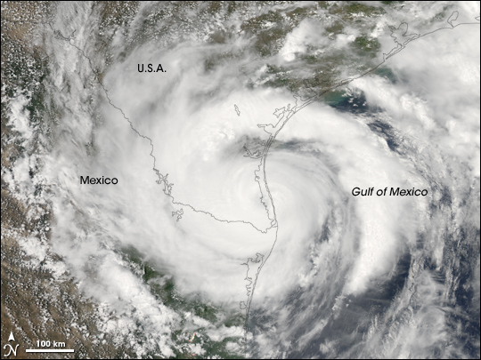 Hurricane Dolly Image of the