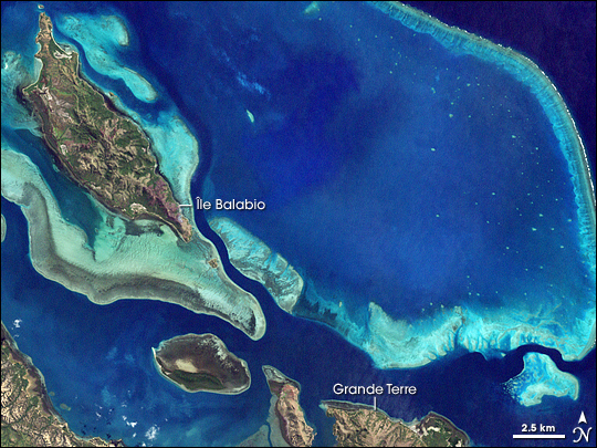 Lagoons and Reefs of New Caledonia