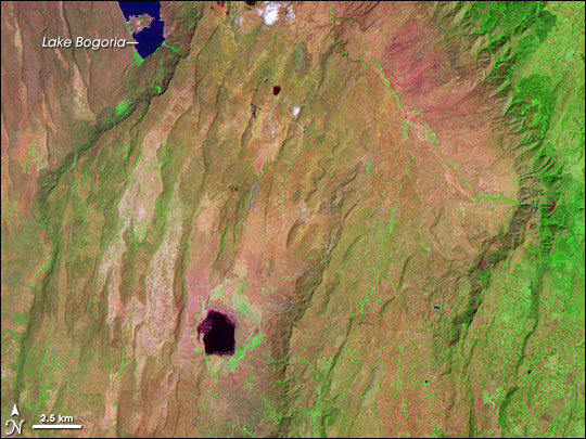 Lake Bogoria and Rift Valley Province, Kenya
