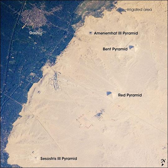 Pyramids of Dashur, Egypt